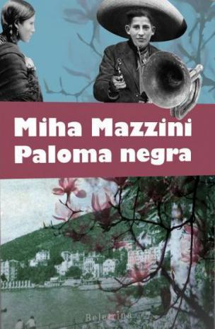 Naslovnica romana Paloma negra