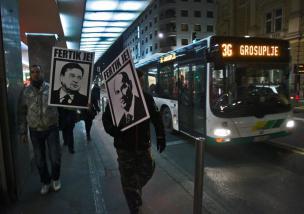 Tretja vseljudska vstaja, Ljubljana, 11. 1. 2013