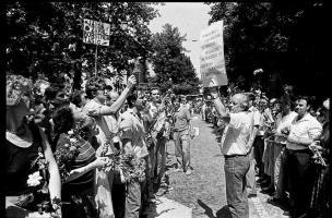Demonstracije v podporo zaprti četverici, Ljubljana, julij 1988