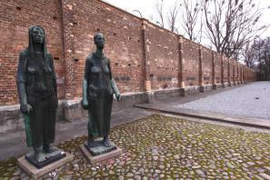 Spomeniško obeležje v nekdanjem taborišču Ravensbrück