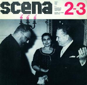 Naslovnica revije Scena (1990)