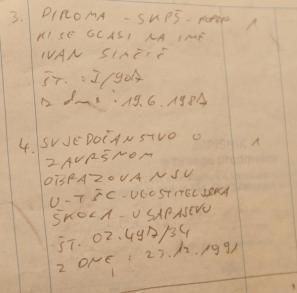 S tem dokumentom je Simčič nastopil na tiskovki 1. marca letos
