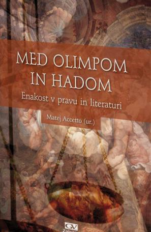 Naslovnica knjige Med Olimpom in Hadom