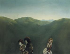 Tri figure, 1974, fotoarhiv Moderne galerije/Foto Lado Mlekuž