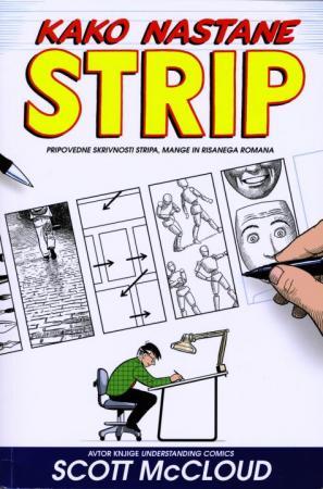 Naslovnica knjige Kako nastane strip
