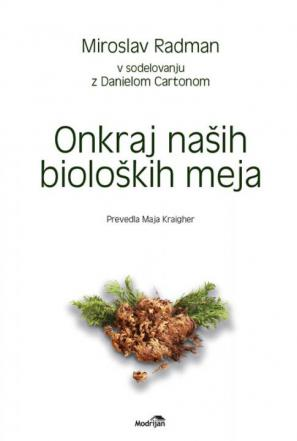 Naslovnica knjige Onkraj naših bioloških meja