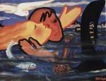 Miha Maleš: Spomin na Benetke, 1936, 78 x 100 cm, Moderna galerija, Ljubljana