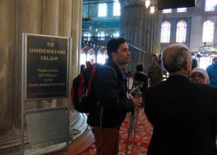 Islam za začetnike v Modri mošeji