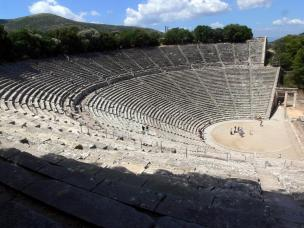 Gledališče Epidaurus na Peloponezu