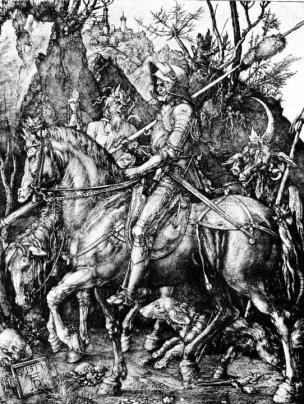 Albrecht Dürer: Jezdec (1513)