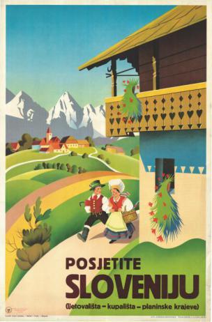 Rudi Gorjup, Posjetite Sloveniju, 1938