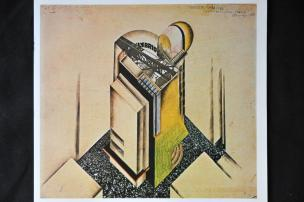 Avgust Černigoj: Arhitekturna študija, 1928
