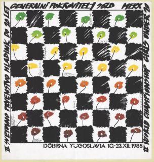 Miljenko Licul, II. svetovno prvenstvo mladink do 20 let v šahu, 1985