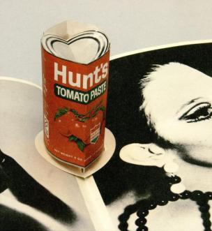 Andy Warhol: Pop-up (pločevinka paradižnikove omake)