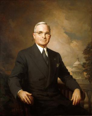 Uradni portret 33. predsednika ZDA