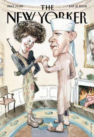 Zakonca Obama, predstavljena kot islamska terorista