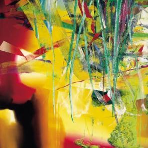 Junij; 250 cm x 250 cm, olje na platnu, 1983; Centre Pompidou, Pariz