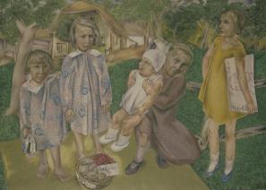 France Kralj, Kmečki in mestni otroci, 1931