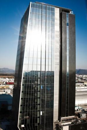 Najvišja stolpnica v Sloveniji, Kristalna palača v ljubljanskem BTC
