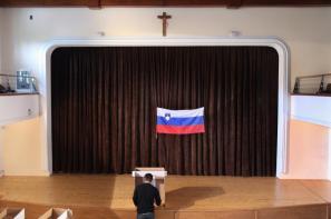 Volišče v Naklem ob državnozborskih volitvah 2008