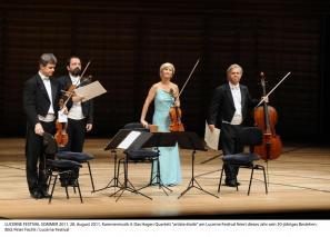Kvartet Hagen je bil na letošnjem festivalu v Luzernu »artiste étoile«