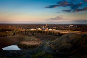 Prizorišče Manifeste 2012 je opuščeni premogovnik Waterschei