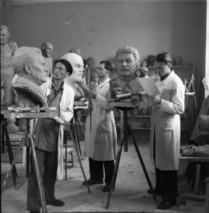 Akademija za likovno umetnost, Ljubljana, 18. april 1947