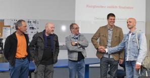 Predsednik žirije Miran Hladnik in nominiranci