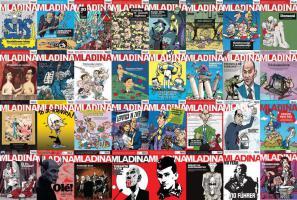 Tednik Mladina je največ svojih naslovnic med politiki namenil Janši