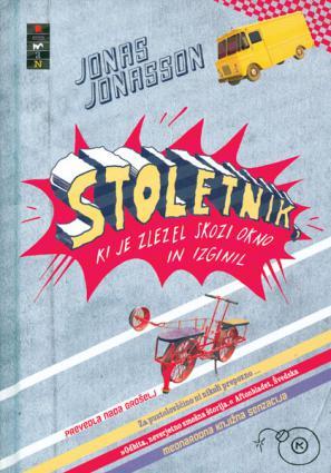 Naslovnica romana Jonasa Jonassona