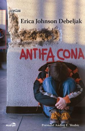 Naslovnica romana Antifa cona