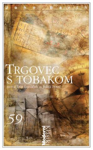 Naslovnica knjige Trgovec s tobakom