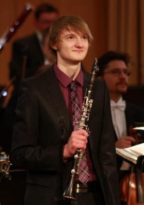 klarinetist Blaž Šparovec