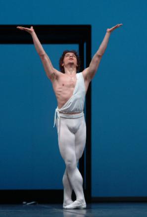 Plesalec portugalskega Baleta Carlos Pinillos