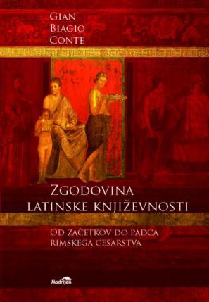 Naslovnica knjige Zgodovina latinske književnosti