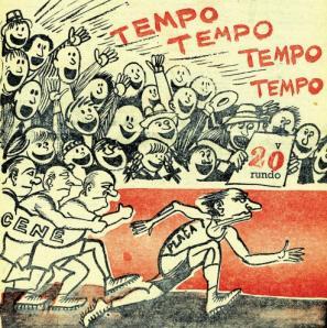 Pavlihova karikatura s »plačo, ki ji ni uspelo uloviti cen« iz leta 1964.