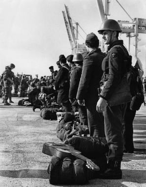 Vojaki JLA v Kopru