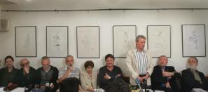 Novinarska konferenca ob 25. obletnici pobude za ustanovitev Nove revije (2005)