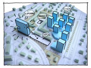 Skica projekta Tobačna mesto
