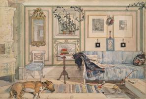 Carl Larsson – Cosy Corner (1894)