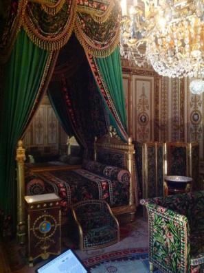 »Skromna« Napoleonova spalnica