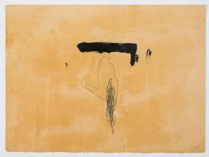 Antoni Tàpies: Le Main/Roka, akvatinta, 1972