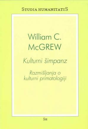 Naslovnica knjige kulturni šimpanz