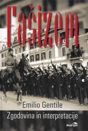 Naslovnica Fašizma, avtor Emilio Gentile