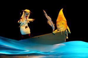 Prizor iz predstave Kurent