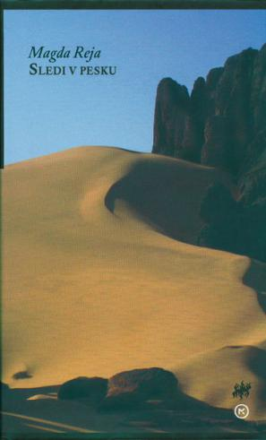 Naslovnica knjige Sledi v pesku