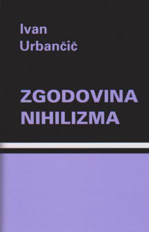 Naslovnica knjige Zgodovina nihilizma
