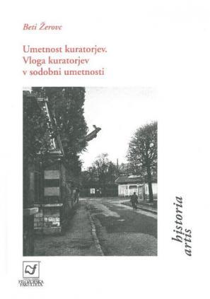 Naslovnica knjige Umetnost kuratorjev