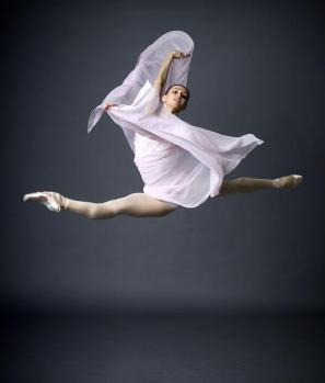 Baletna plesalka Anastazija Matvienko