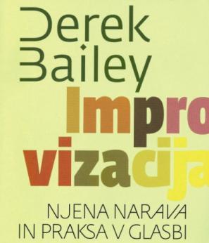 Naslovnica knjige Dereka Baileya